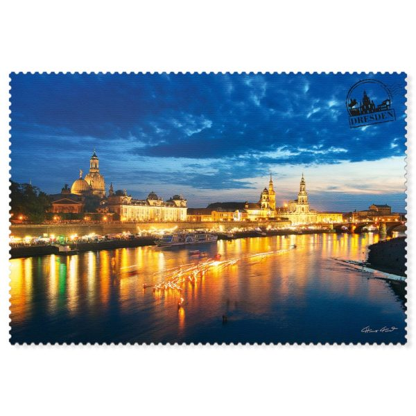 Dresden Postkarte hpd002 Hans Fineart