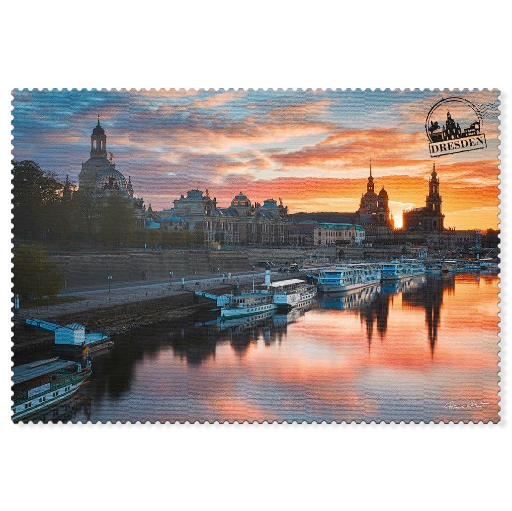 Dresden Postkarte hpd028 Hans Fineart
