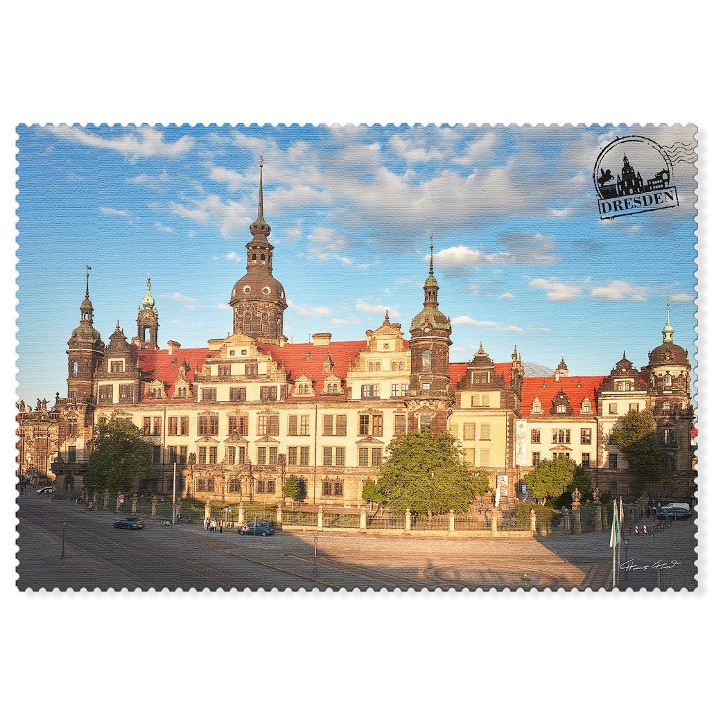 Dresden Postkarte hpd030 Hans Fineart
