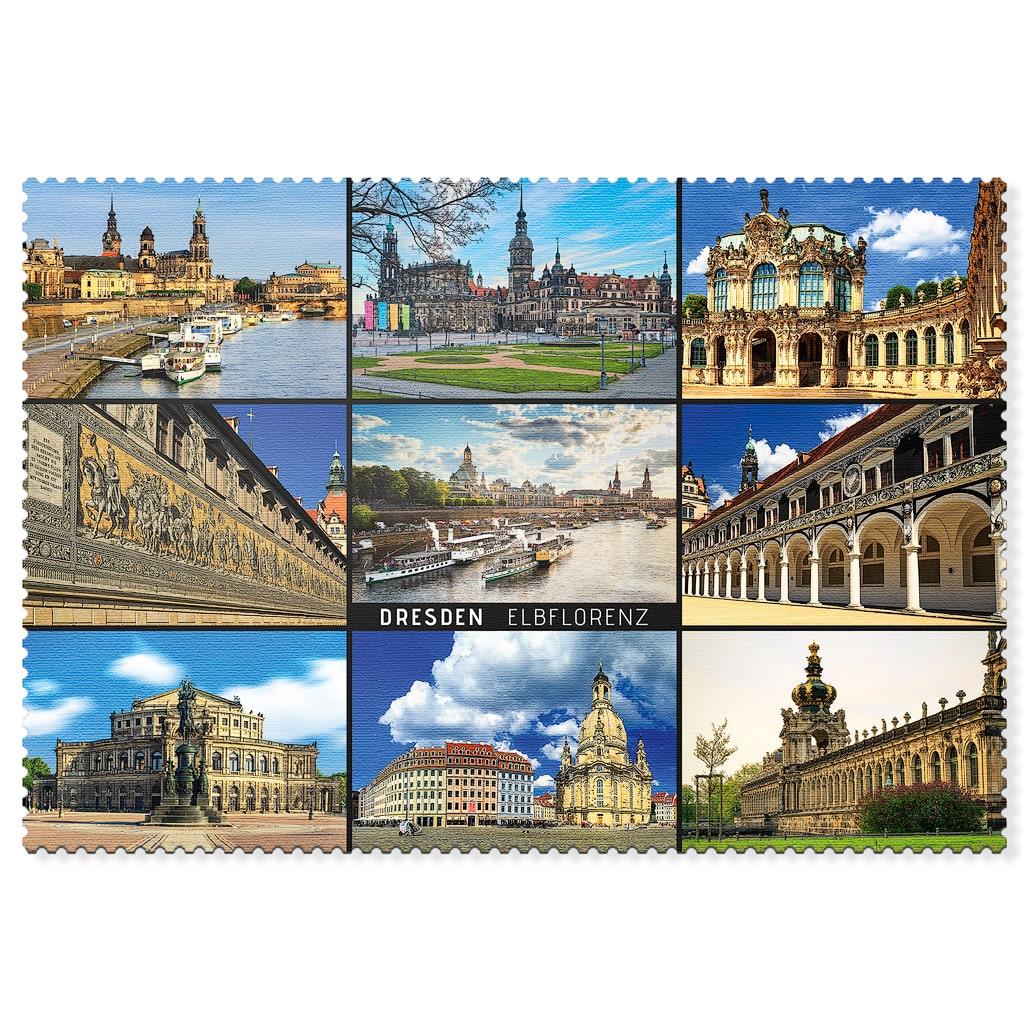 Dresden Postkarte hpd038 Hans Fineart