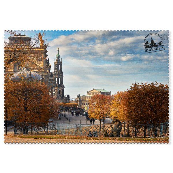 Dresden Postkarte hpd063 Hans Fineart