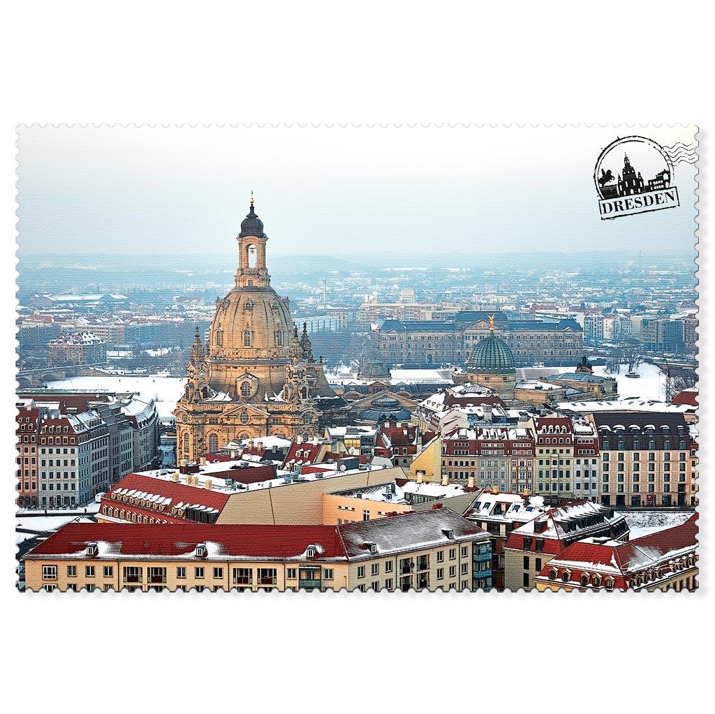 Dresden Postkarte hpd035 Hans Fineart