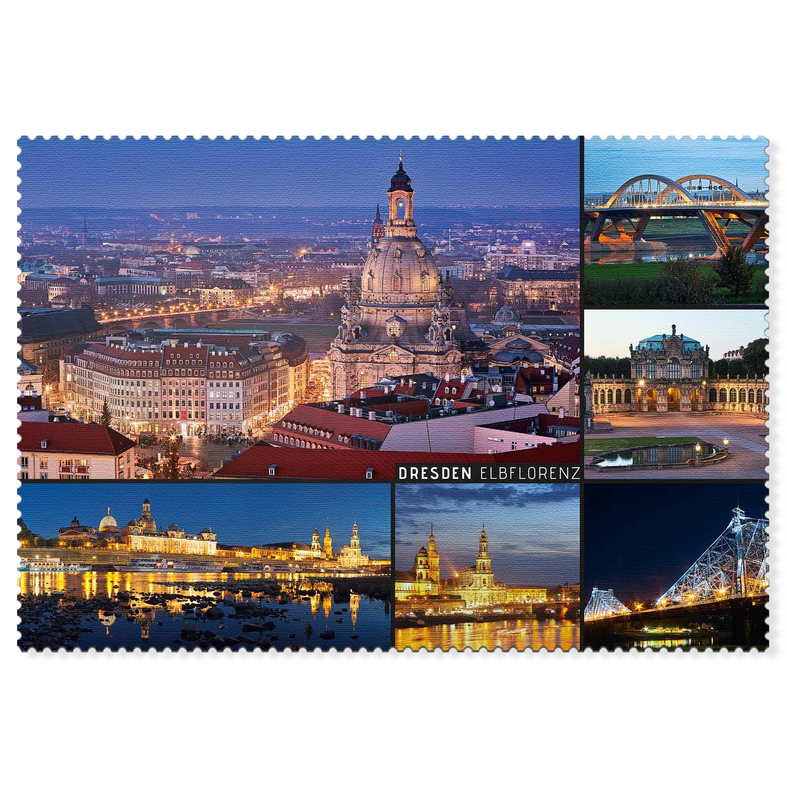 Dresden Postkarte hpd055 Hans Fineart