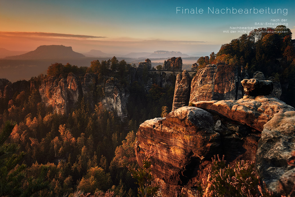 Sächsische Schweiz Wehnadel hans fine art photography