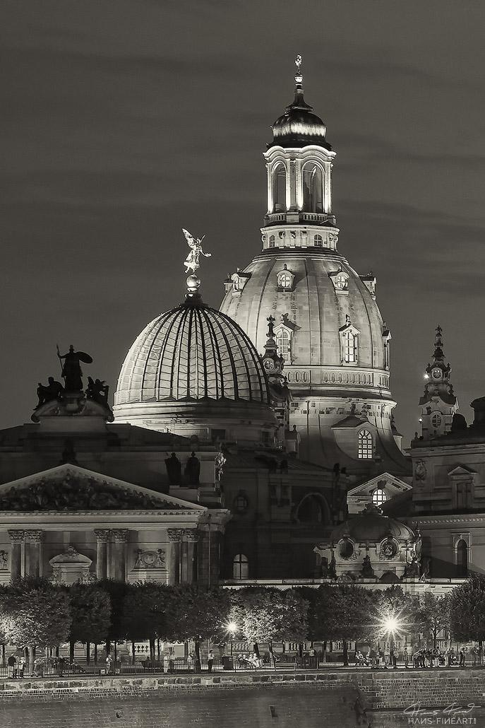 Brühlsche Terrasse Hans Fineart Sachsen Galeriebilder Dresden