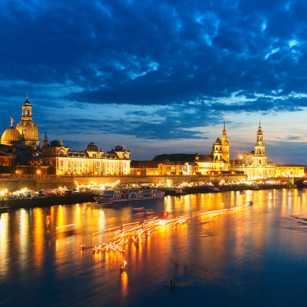 Stadtfest Skyline Hans Fineart Sachsen Galeriebilder Dresden