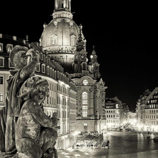 Frauenkirche Hans Fineart Sachsen Galeriebilder Dresden Engelsblick