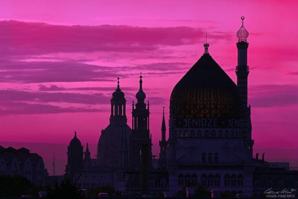 Dresden-022   Open Edition   Lila Morgen