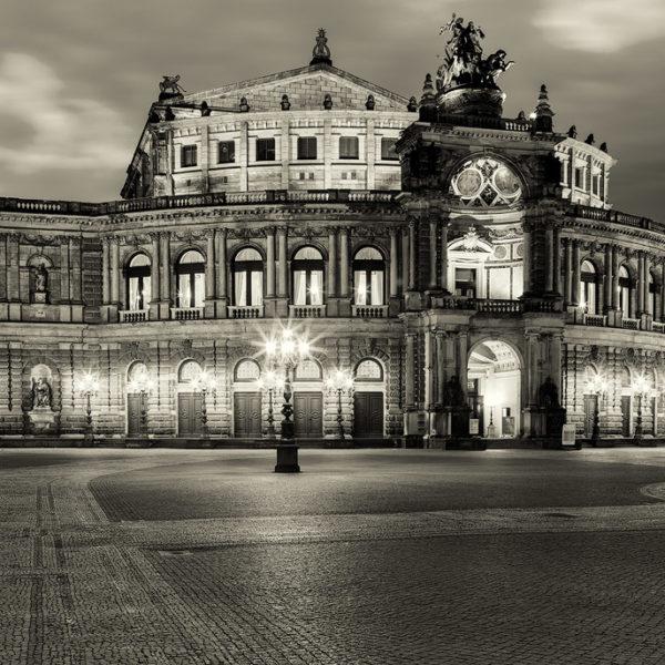 Semperoper Hans Fineart Sachsen Galeriebilder Dresden Semper SW