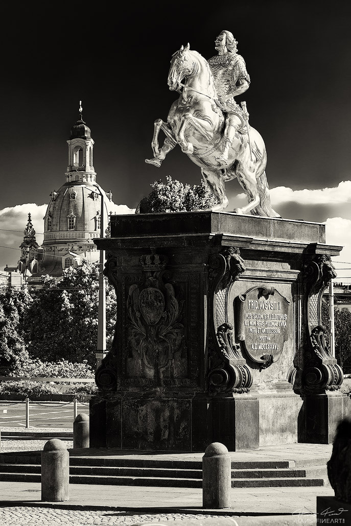 Goldener Reiter Hans Fineart Sachsen Galeriebilder Dresden Augustus Rex