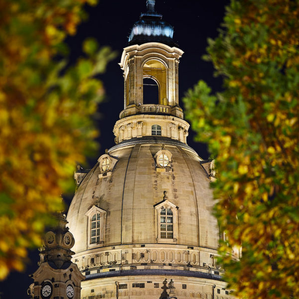 Frauenkirche Hans Fineart Sachsen Galeriebilder Dresden Nacht Kirche