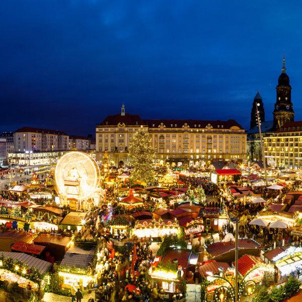 Striezelmarkt Hans Fineart Sachsen Galeriebilder Dresden