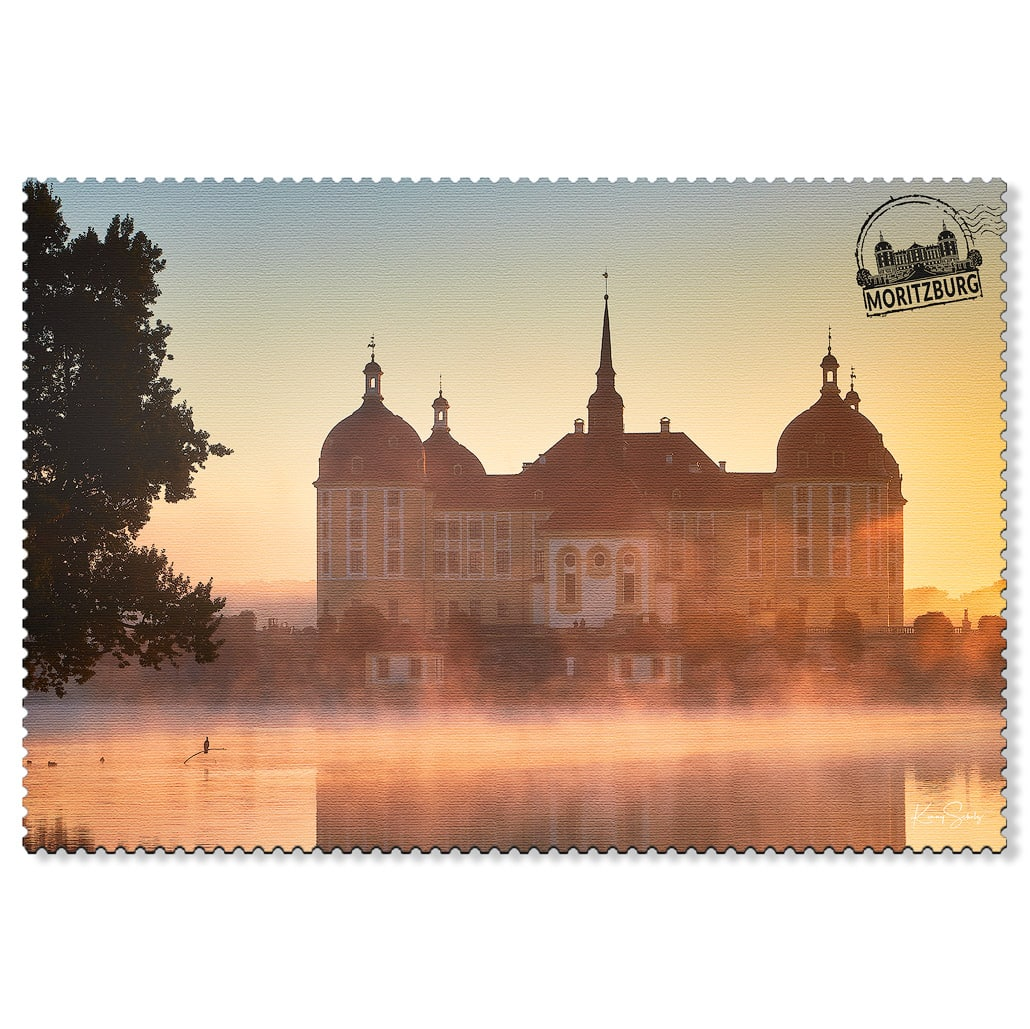 Moritzburg Postkarte sd001 Hans Fineart