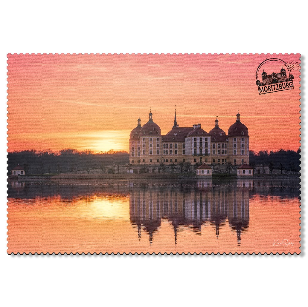 Moritzburg Postkarte sd002 Hans Fineart