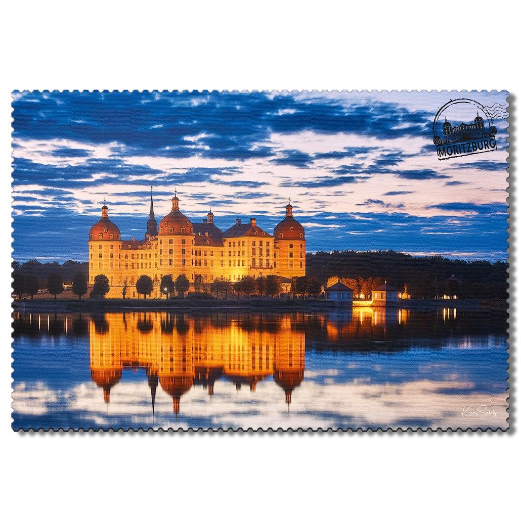 Moritzburg Postkarte sd005 Hans Fineart