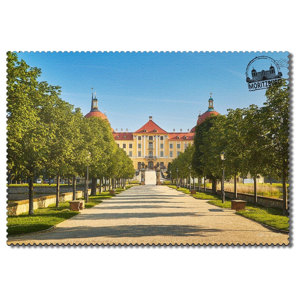 Moritzburg Postkarte sd006 Hans Fineart