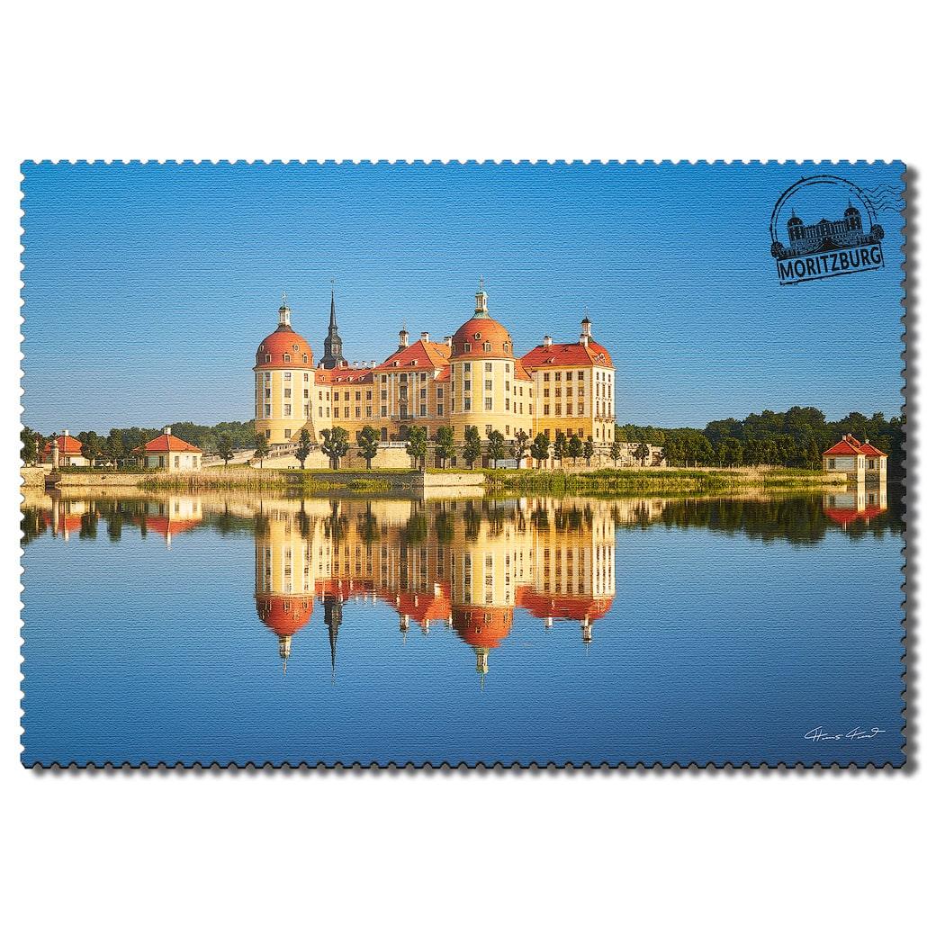 Moritzburg Postkarte sd007 Hans Fineart