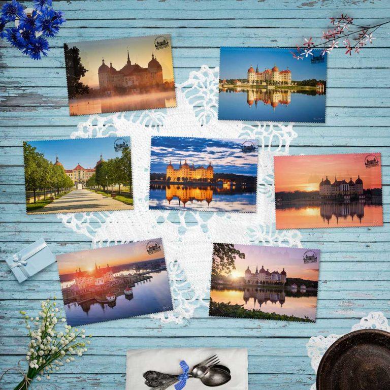 Moritzburg Postkarte Moritzburg Edition Hans Fineart