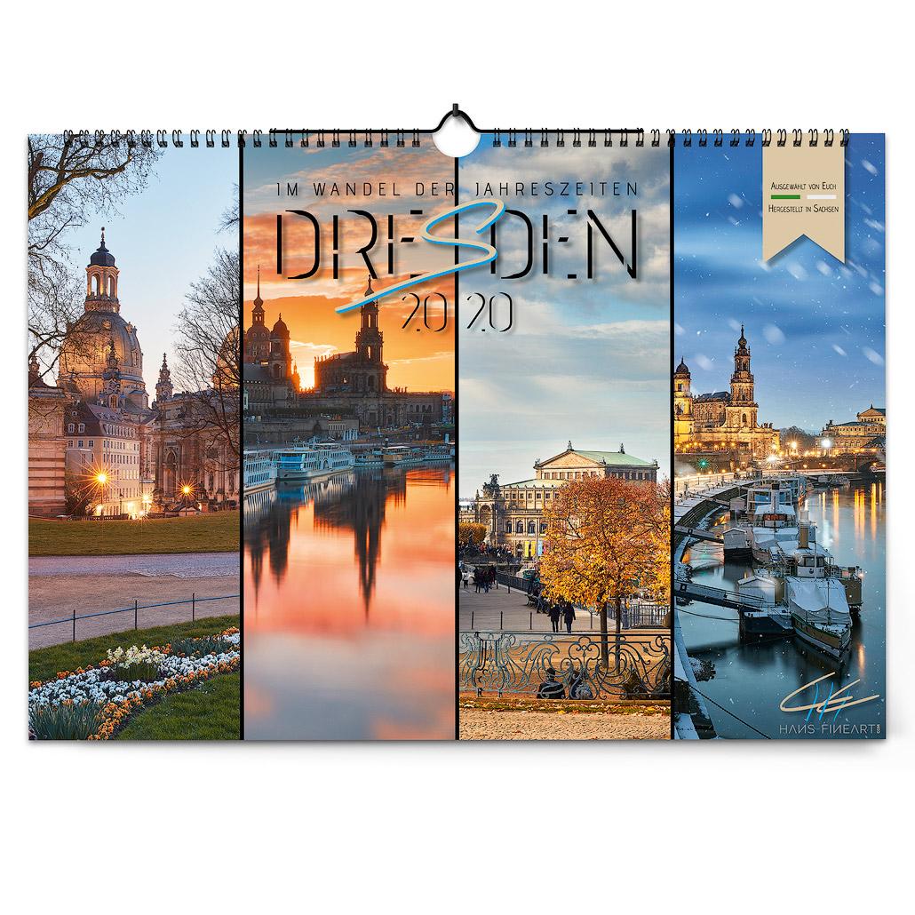 Dresden 2020   Im Wandel der Jahreszeiten Hans Fineart