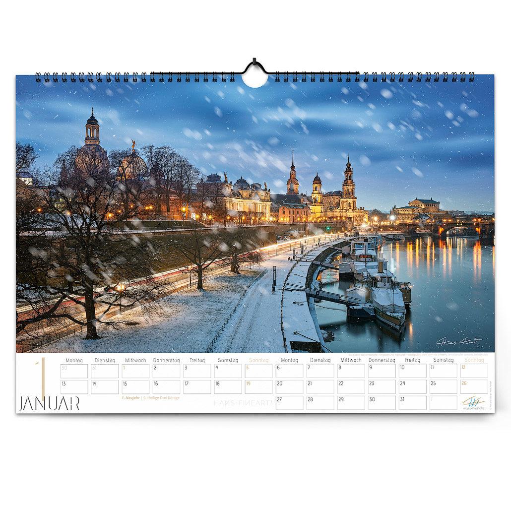 Dresden 2020 | Im Wandel der Jahreszeiten Januar Hans Fineart