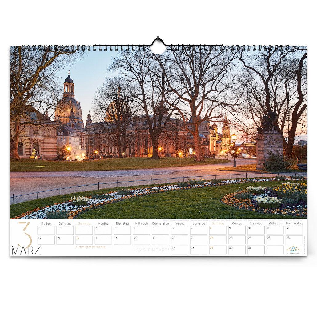 Dresden 2020 | Im Wandel der Jahreszeiten März Hans Fineart