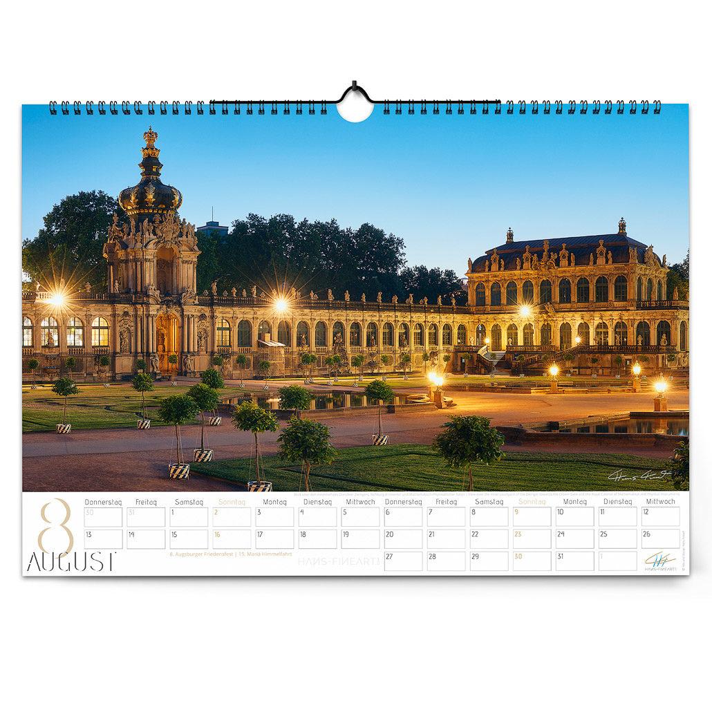 Dresden 2020 | Im Wandel der Jahreszeiten August Hans Fineart