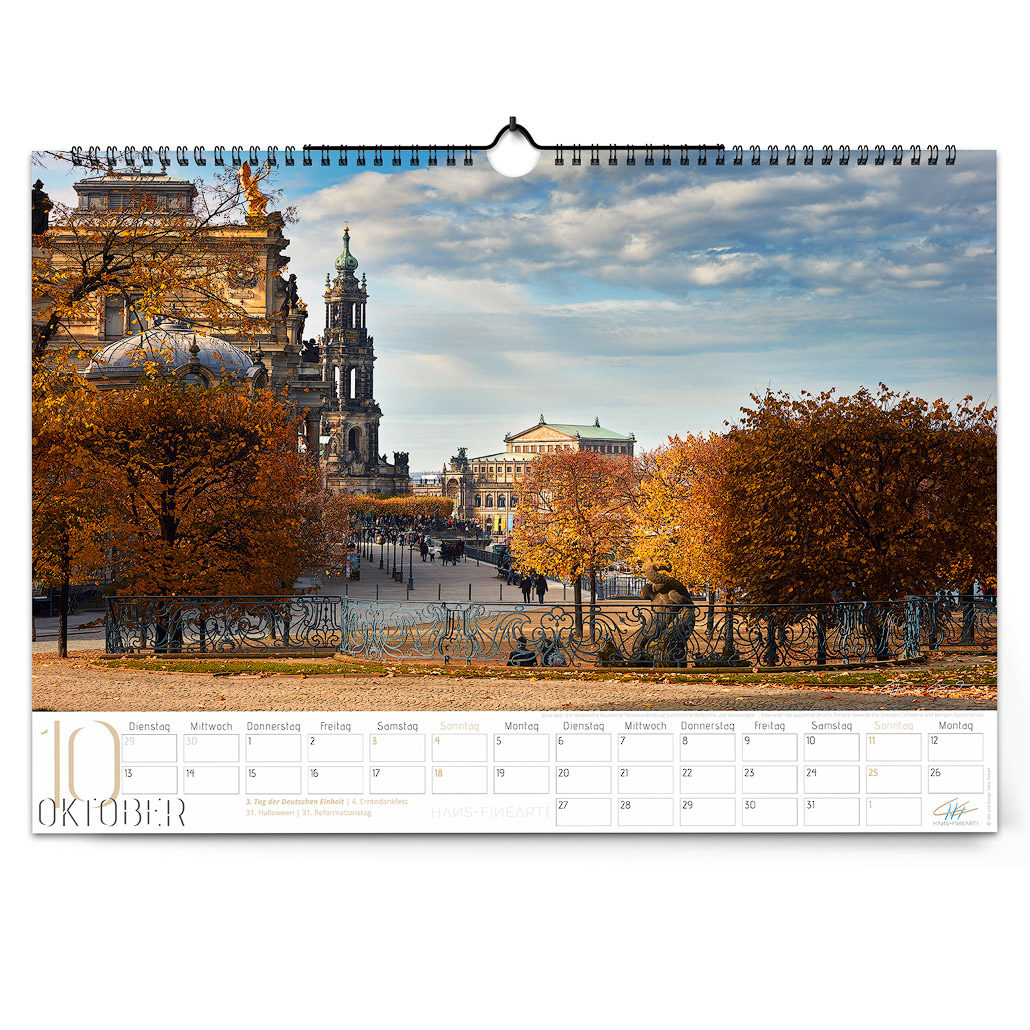 Dresden 2020 | Im Wandel der Jahreszeiten Oktober Hans Fineart
