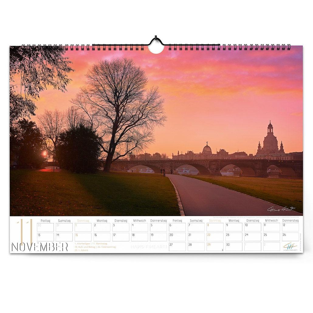 Dresden 2020 | Im Wandel der Jahreszeiten November Hans Fineart