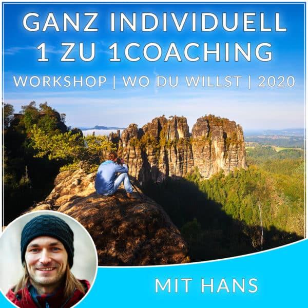 Individual Workshop 1 zu 1 Hans Fineart