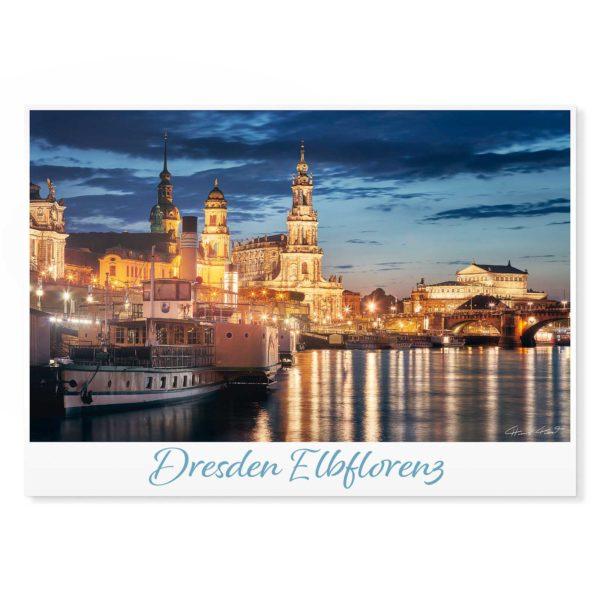 Dresden Postkarte lui002 Hans Fineart