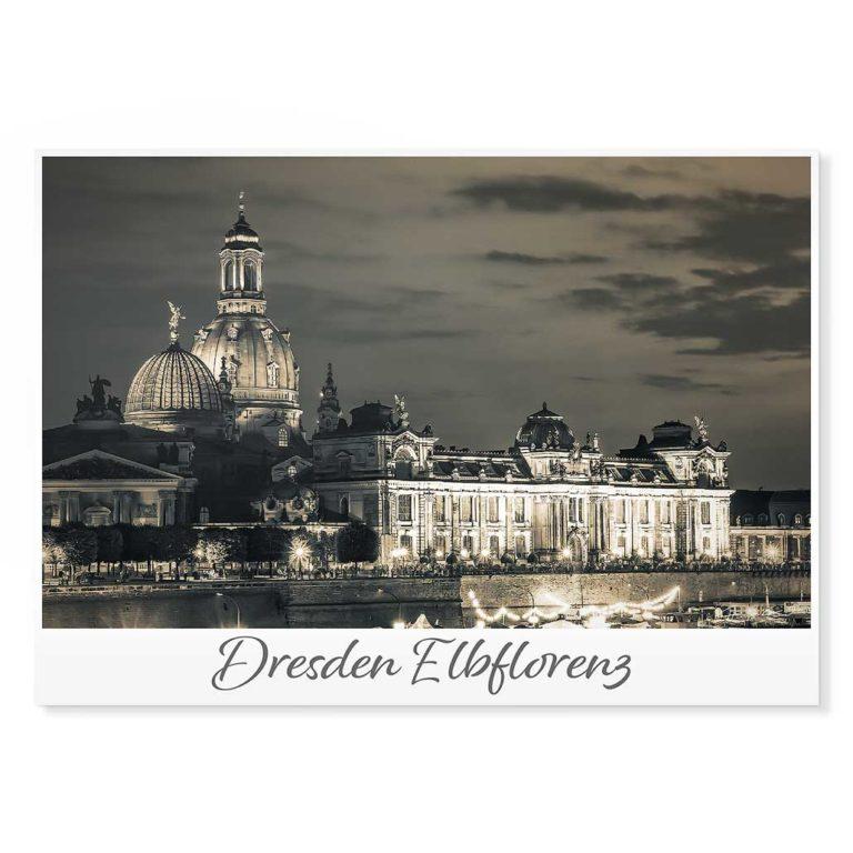 Dresden Postkarte lui003 Hans Fineart