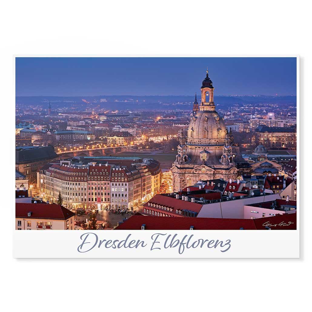 Dresden Postkarte lui004 Hans Fineart