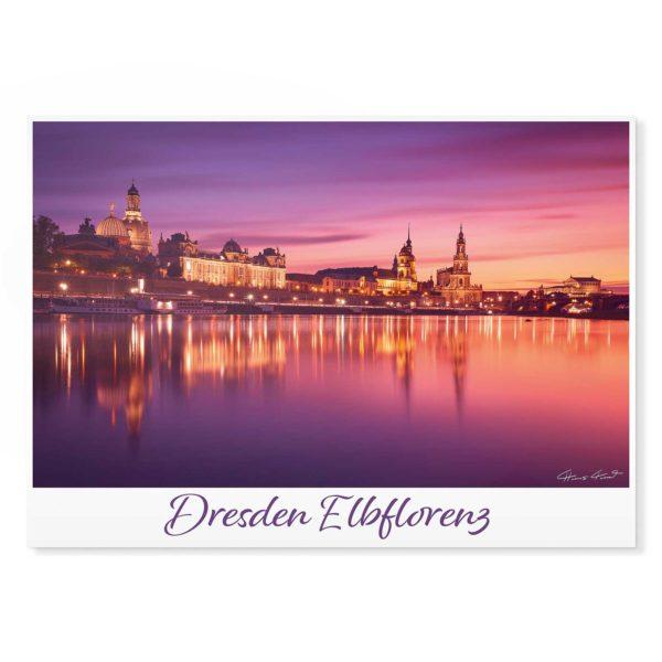Dresden Postkarte lui005 Hans Fineart