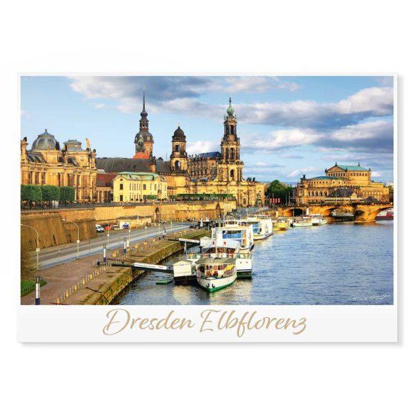Dresden Postkarte lui009 Hans Fineart