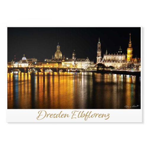 Dresden Postkarte lui011 Hans Fineart