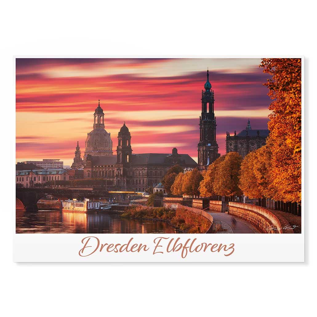 Dresden Postkarte lui015 Hans Fineart