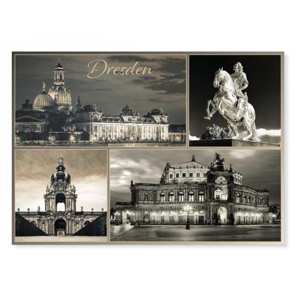 Dresden Postkarte lui017 Hans Fineart