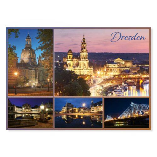 Dresden Postkarte lui018 Hans Fineart