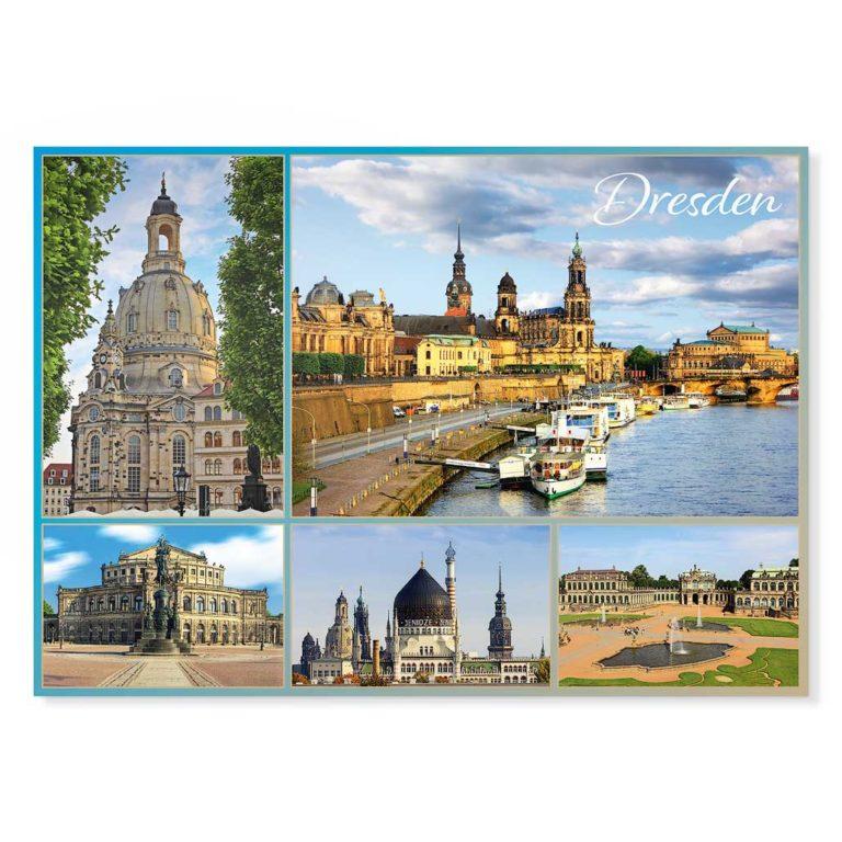 Dresden Postkarte lui019 Hans Fineart