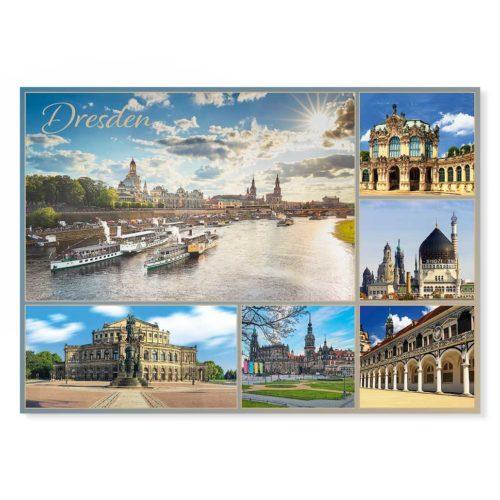 Dresden Postkarte lui021 Hans Fineart