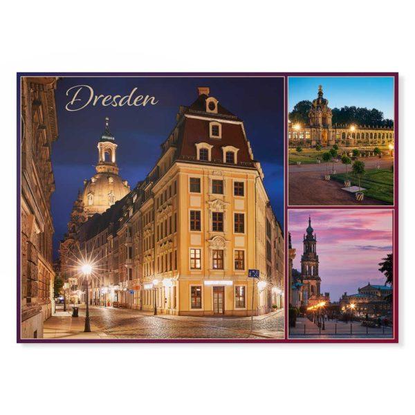 Dresden Postkarte lui022 Hans Fineart