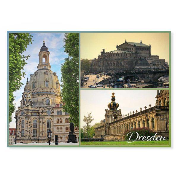 Dresden Postkarte lui023 Hans Fineart