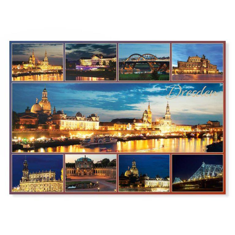 Dresden Postkarte lui025 Hans Fineart
