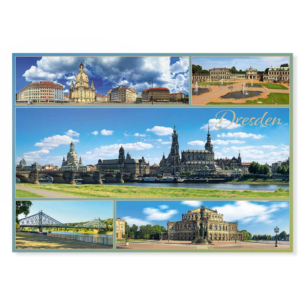 Dresden Postkarte lui026 Hans Fineart