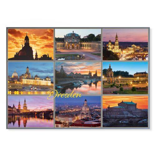 Dresden Postkarte lui028 Hans Fineart