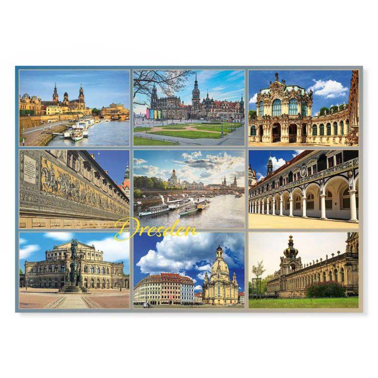 Dresden Postkarte lui029 Hans Fineart