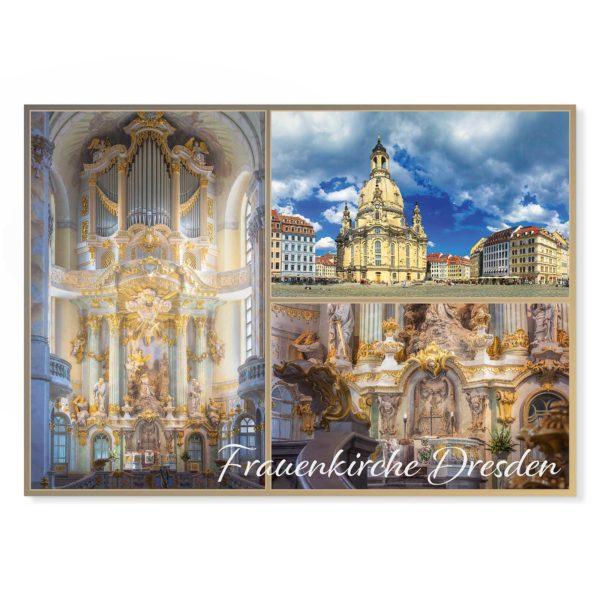 Dresden Postkarte lui030 Hans Fineart