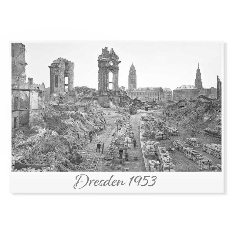 Dresden Postkarte lui031 Hans Fineart