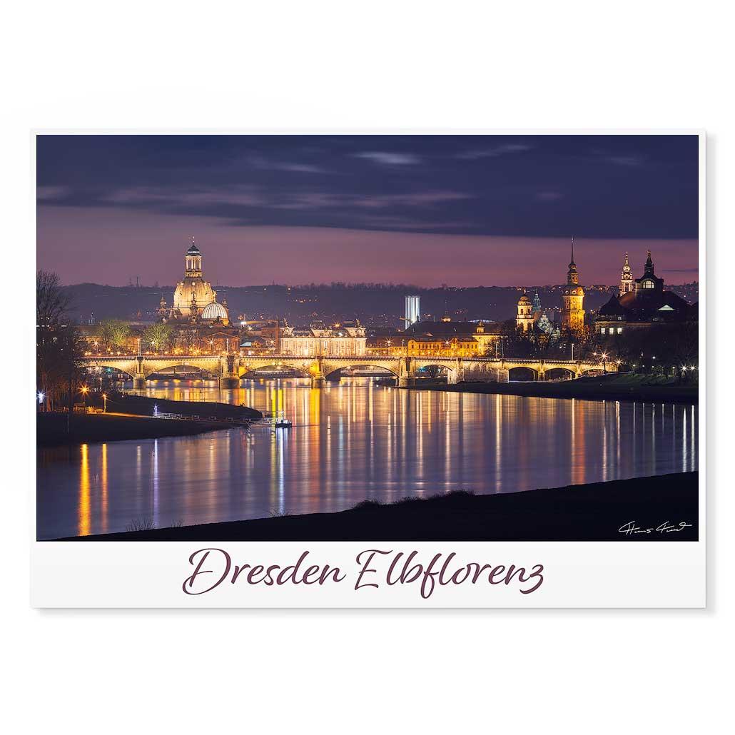 Dresden Postkarte lui033 Hans Fineart