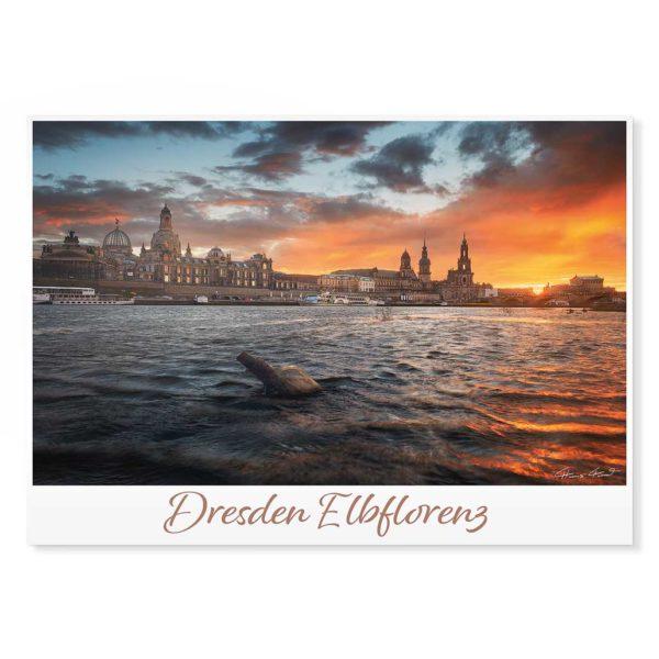Dresden Postkarte lui034 Hans Fineart